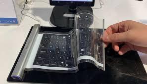 لوحة مفاتيح قابلة للطي