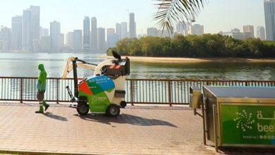 Photo of بالصور .. مركبات ذاتية القيادة تُنظف شوارع الإمارات