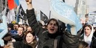 الآلاف من الروس يحتجون على قيود الإنترنت