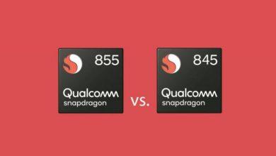 Photo of المقارنة بين معالجي Snapdragon 855 و 845