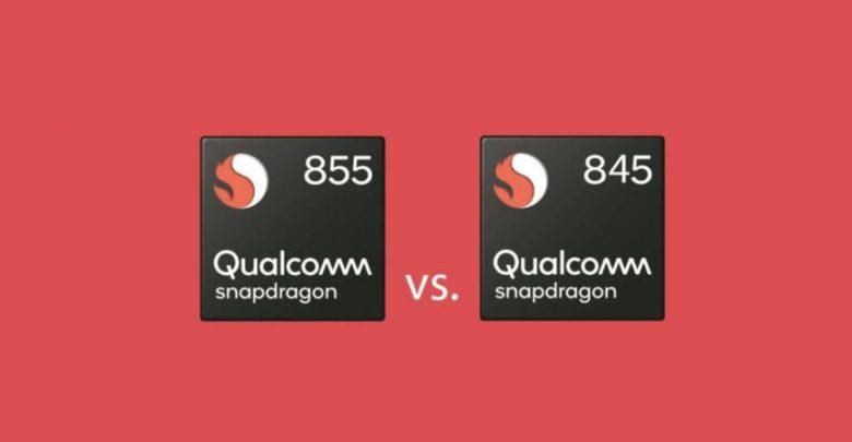 المقارنة بين معالجي Snapdragon 855 و 845