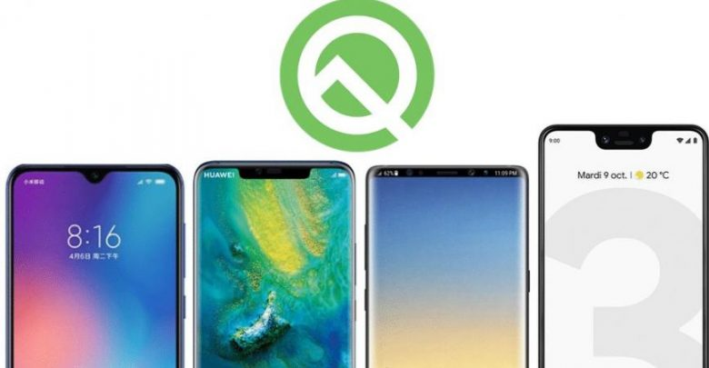الهواتف التي ستحصل على النسخة التجربية من نظام Android 10 Q
