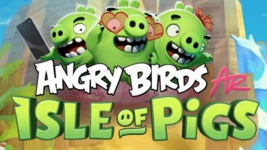 روفيو تطلق نسخة بتقنية الواقع المعزز من لعبة الطيور الغاضبة