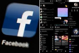 فيسبوك الوضع المظلم