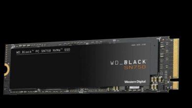 Photo of ويسترن ديجيتال تطرح WD Black SN750 NVMe SSD