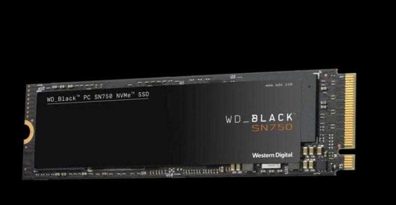 ويسترن ديجيتال تطرح WD Black SN750 NVMe SSD