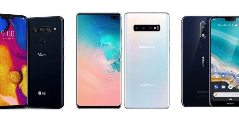 """أبرز"""" 6 هواتف أندرويد """"ذات سعة تخزينية قابلة للزيادة في عام 2019"""