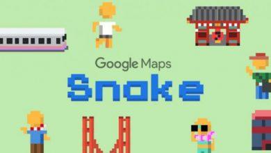 جوجل تضيف لعبة الثعبان إلى خرائطها كـ كذبة...