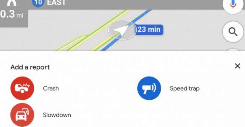 """"""" جوجل """"تضيف ميزة الإبلاغ عن تباطؤ حركة المرور"""
