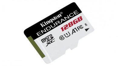 "Photo of "" كينغستون"" ديجيتال تطرح بطاقات ذاكرة microSD فائقة التحمل"