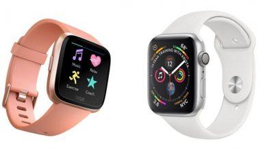 Photo of مقارنة شاملة بين ساعتي Apple Watch وFitbit Versa