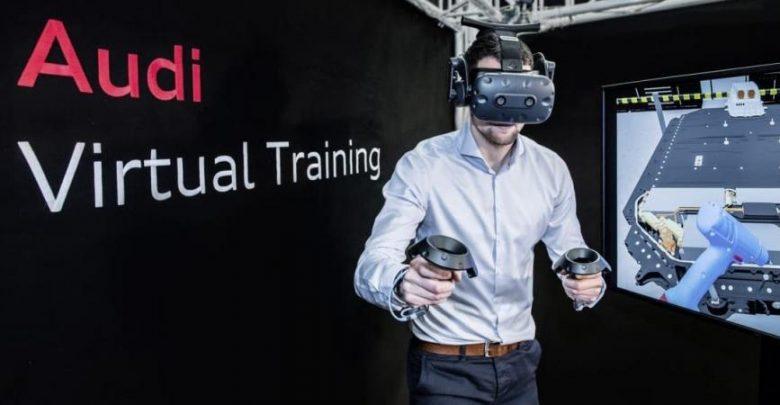 أودي تستخدم الواقع الافتراضي استعدادًا لحقبة السيارات…
