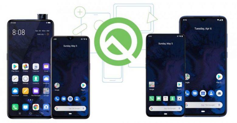 الهواتف المؤهلة للحصول على الإصدار التجريبي من نظام Android Q …