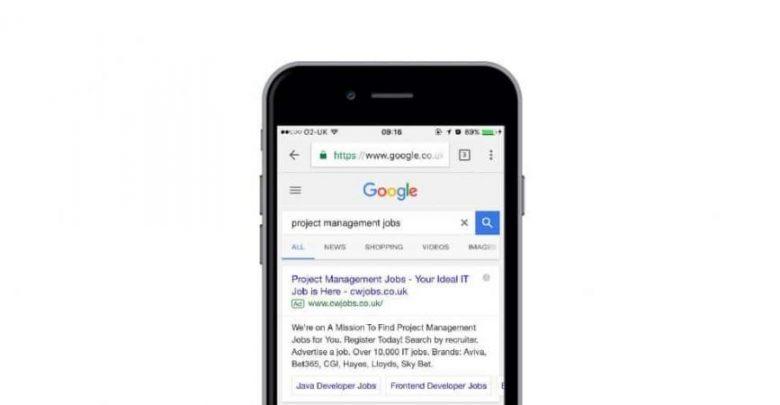 جوجل سوف تكثر من إعلاناتها على الهواتف وسط تباطؤ الإيرادات