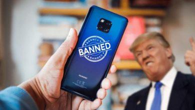 ترامب قد يمنع الشركات الأمريكية من الشراء من هواوي