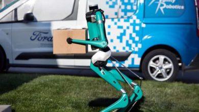 Photo of لأول مرة.. فورد تعرض روبوتًا مع سيارة ذاتية القيادة لتسليم الطرود (فيديو)