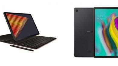 Photo of مقارنة شاملة بين جهازي سامسونج Galaxy Tab S4 و Galaxy Tab S5e