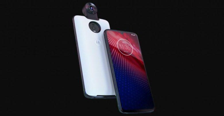رسميا: الإعلان عن هاتف MOTOROLA MOTO Z4 مع معالج SNAPDRAGON 675