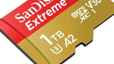 Photo of SanDisk توفر الآن بطاقة microSD سعة 1 تيرابايت بسعر 450 دولار