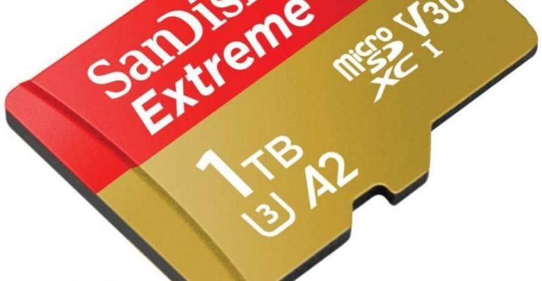 SanDisk توفر الآن بطاقة microSD سعة 1 تيرابايت بسعر 450 دولار