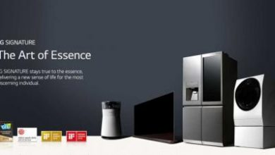 Photo of لقاء الحرفية العالية والتصميم العصري العيش الحديث مع LG SIGNATURE