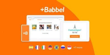صفقة اليوم.. الاشتراك مدى الحياة في تطبيق Babbel لتعلم اللغات