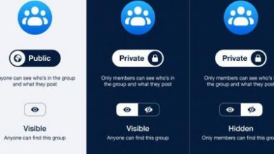 Photo of فيس بوك تحدث إعدادات الخصوصية فى المجموعات