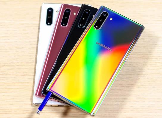 سامسونج تختار اسمًا للنسخة المخففة من 10 Galaxy Note