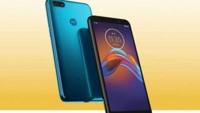 Photo of مواصفات وسعر هاتفي Moto G8 Plus و Moto E6 Play