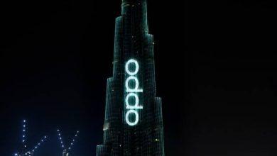 Photo of هواتف OPPO Reno 2 تتألق على برج خليفه في دبي