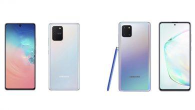 Photo of سامسونج تعلن عن هاتفيها  Galaxy S10 Lite و Galaxy Note10 Lite