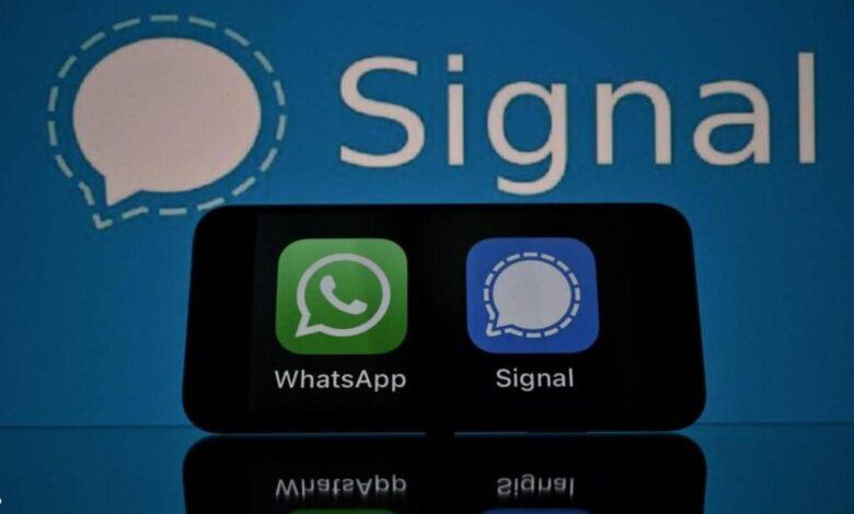 مزايا تطبيق Signal
