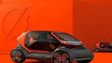 Photo of شركة Renault تستعرض نموذج سيارة كهربائية