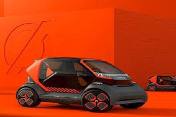 شركة Renault تستعرض نموذج سيارة كهربائية