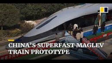 "Photo of الصين تكشف عن ""قطار مغناطيسي"""