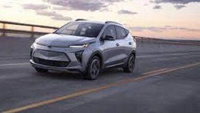 Photo of جنرال موتورز تكشف النقاب عن سيارتها Chevy Bolt SUV الكهربائية..