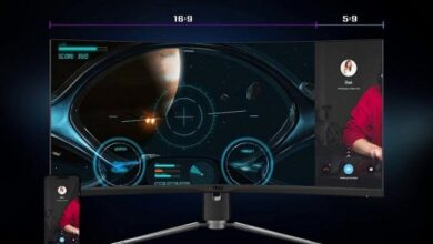 Photo of شركة MSI تكشف عن شاشة 343CQR من سلسلة Artymis الجديدة!