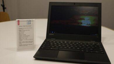 Photo of شركة Lenovo تعلن عن ثلاثي أجهزة e-Chromebook الجديدة