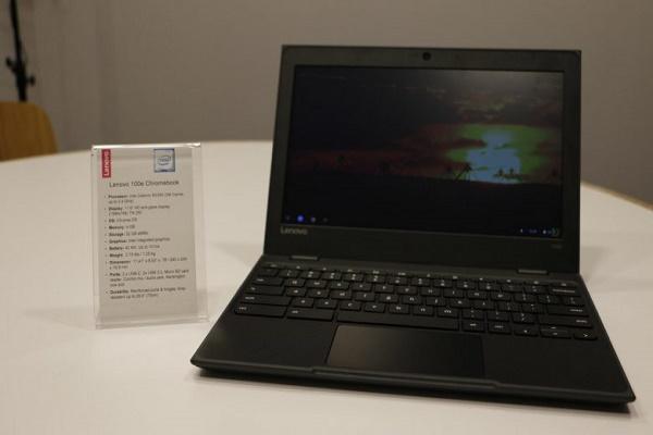 شركة Lenovo تعلن عن ثلاثي أجهزة e-Chromebook الجديدة