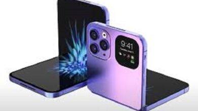 Photo of هاتف آيفون القابل للطي قد يأتي في عام 2023