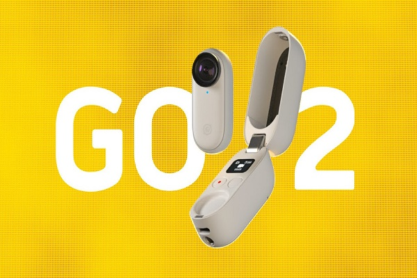 كاميرا Insta360 Go 2 بحجم إبهامك للتصوير دون أي عائق