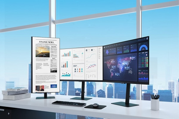 سامسونج تطلق تشكيلة الشاشات العالية الدقة لعام 2021