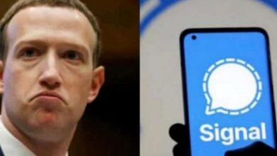 Photo of مارك زكربيرج يستخدم تطبيق Signal للدردشة!