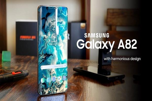 سامسونج تكشف عن هاتف جالكسي A82