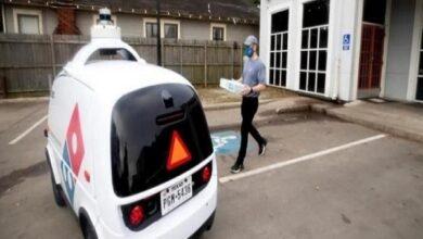 Photo of روبوت Nuro الذاتي القيادة يسلم طلبات دومينوز بيتزا