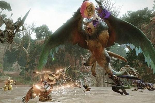 لعبة Monster Hunter Rise تتصدر مبيعات الألعاب في اليابان