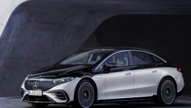 Photo of مرسيدس تكشف عن السيارة الكهربائية الفاخرة EQS