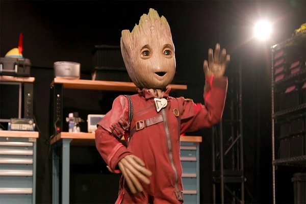 أحدث روبوت من ديزني يجلب Groot إلى الحياة