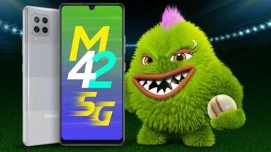 Photo of سامسونج تكشف عن هاتف جالكسي M42 5G