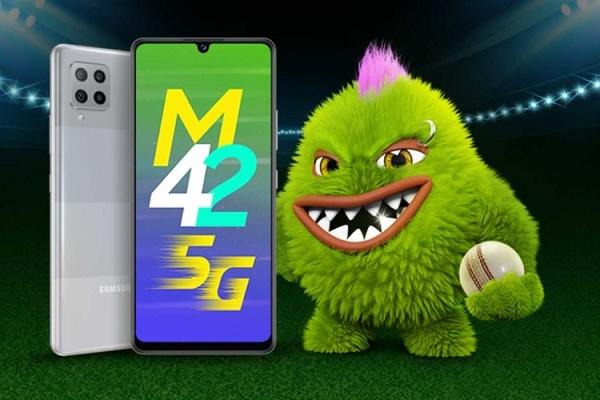 سامسونج تكشف عن هاتف جالكسي M42 5G